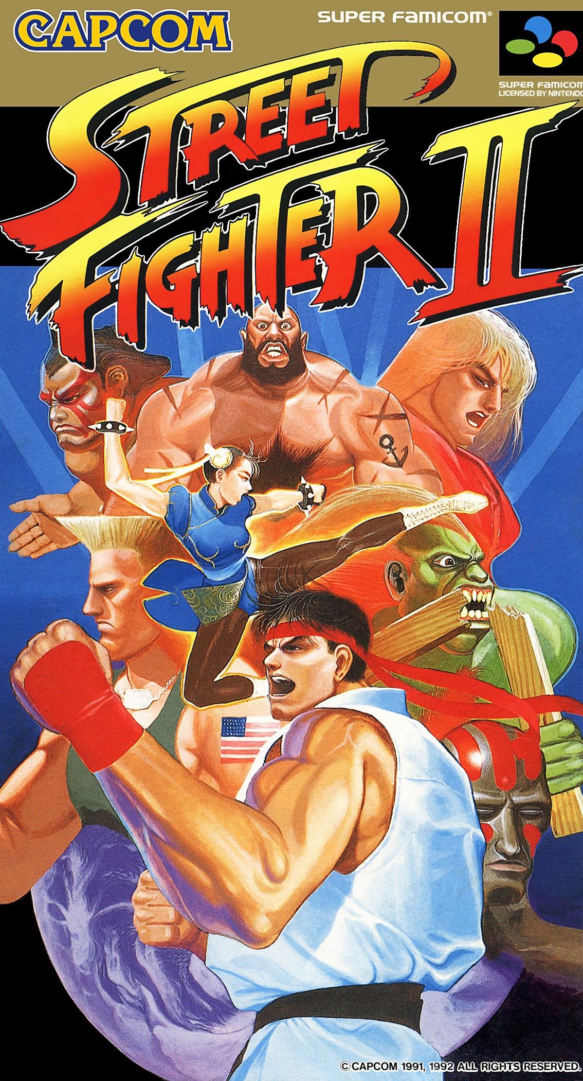 Quel personnage de 'Street Fighter II' devrais-tu prendre ?