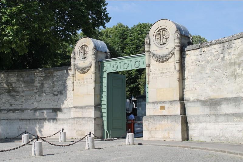 Dans quel cimetière parisien reposent des personnalités telles que Molière ou Honoré de Balzac ?