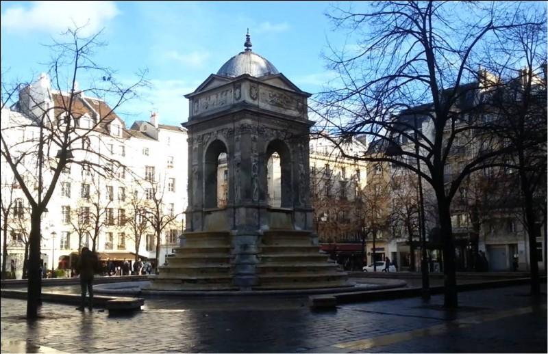 Comment se nomme cette fontaine parisienne, classée monument historique depuis 1862 ?