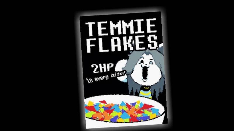 Que sont les Temmie flakes ?