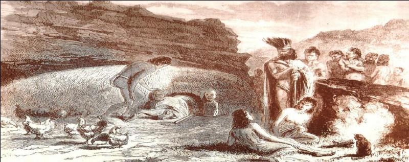 Quelle théorie dit que la civilisation pascuane a connu le suicide collectif de sa population ! Et cela s'appelle la [...].