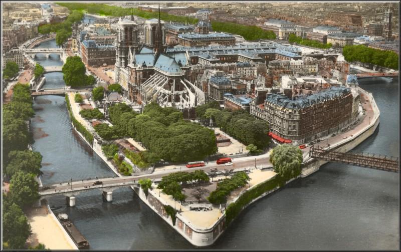 Quel est le nom de cette île non-artificielle située sur la Seine à Paris ?