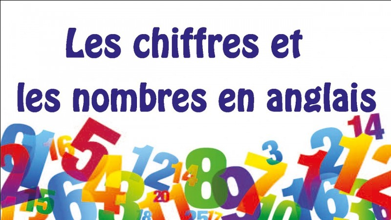 "Traduisez : ""Je connais mes tables de multiplications."""