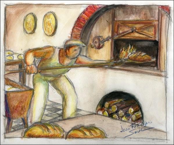 Si dedans tu te retrouves un jour, bien sûr dans la farine tu seras roulé mais aussi, ton pain noir tu mangeras. Il est...