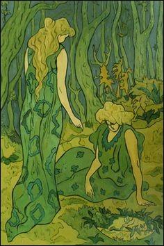 """Qui a peint """"Dans la forêt"""" ?"""