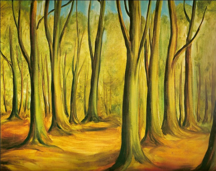 """Qui est l'auteur de """"La forêt de Fontainebleau"""" ?"""