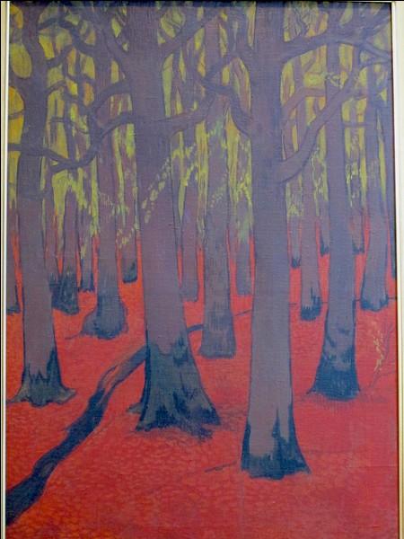Qui a peint cette forêt ?