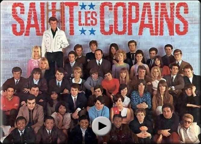 Quel chanteur figure au-dessus de tous les autres sur la photo ?
