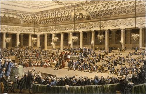 La Terreur a entraîné la division des Montagnards, le parti de Robespierre, en deux groupes. Qui sont ces 2 groupes ?