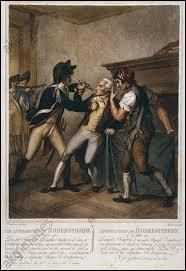 Maximilien de Robespierre était un avocat d'Arras qui était pour la Révolution et a instauré la Terreur en 1793. Mais, il perdit le pouvoir à cause de ses opinions extrémistes. Comment sont appelées les personnes qui ont réussi à le faire chuter ?