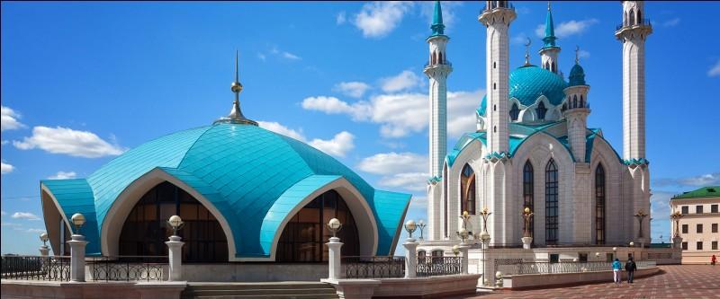 Situez Kazan.