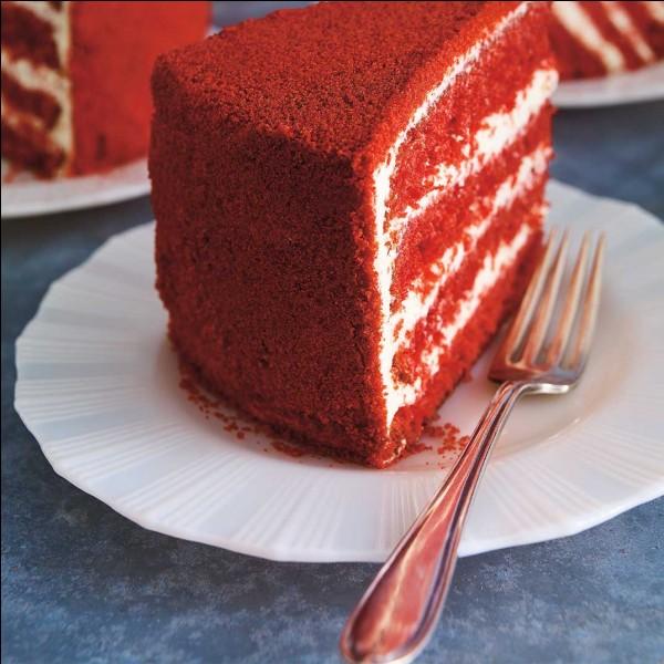 Alors là, c'est hyper facile : de quelle couleur est ce gâteau ?