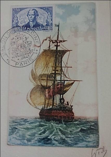 En quelle année est partie la grande expédition commandée par La Pérouse ?