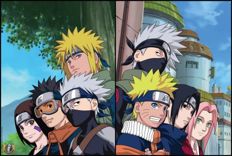 Quelle relation entretenait Kakashi avec le père de Naruto ?
