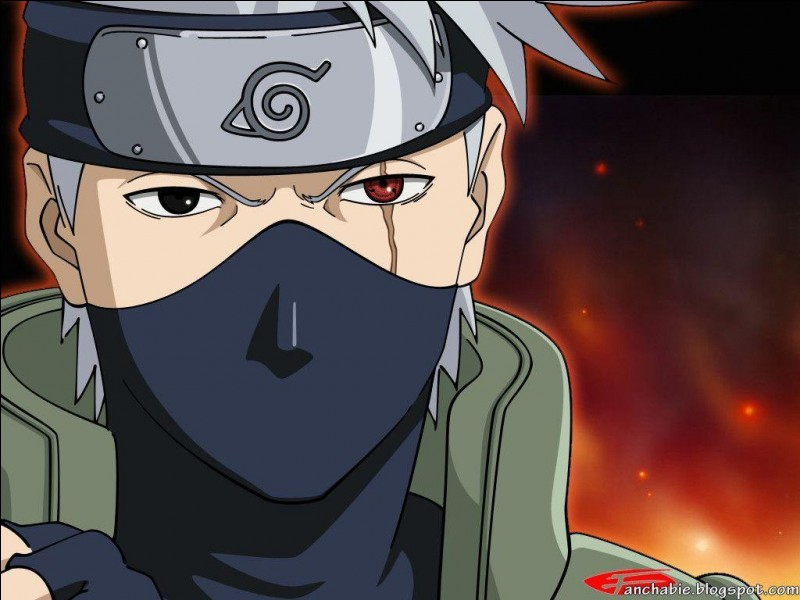 D'où Kakashi tient-il son œil ?