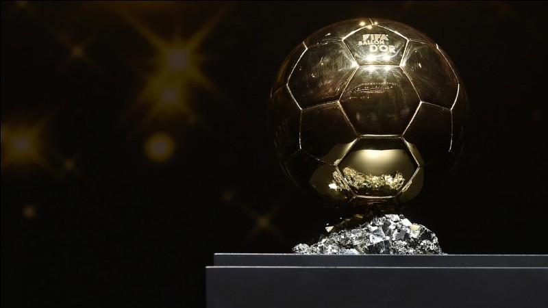 Quel est le seul gardien de but à avoir reçu le Ballon d'Or ? (2018)