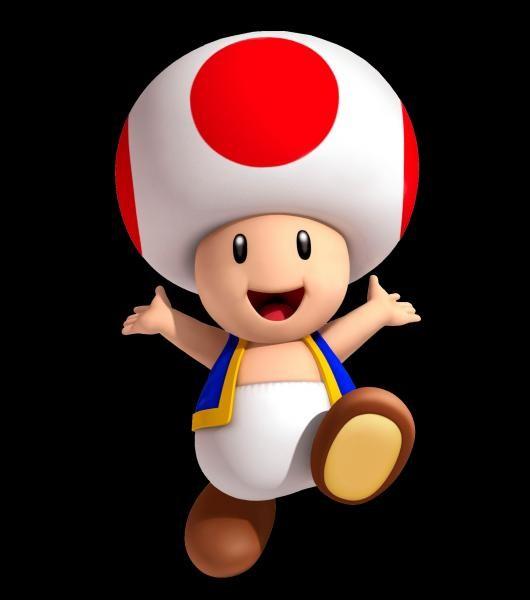 Quand Toad est apparu, quelle était sa couleur ?