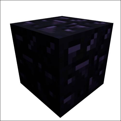 Avec quelle pioche mine-t-on de l'obsidienne ?