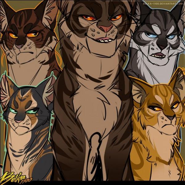Lorsqu'Étoile du Tigre et Étoile du Léopard ont fait leur alliance, Étoile du Tigre siégeait sur un tas de fourrure.