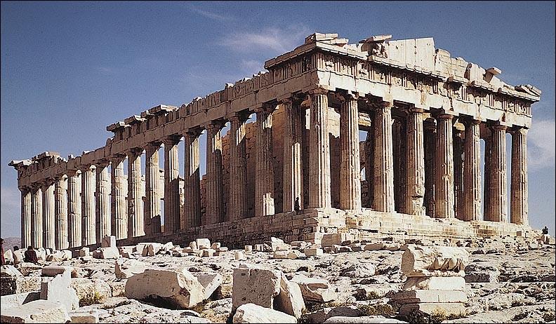Où se trouve le Parthénon ?