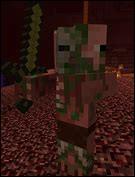 Comment tuer un cochon zombie juste en le poussant ?