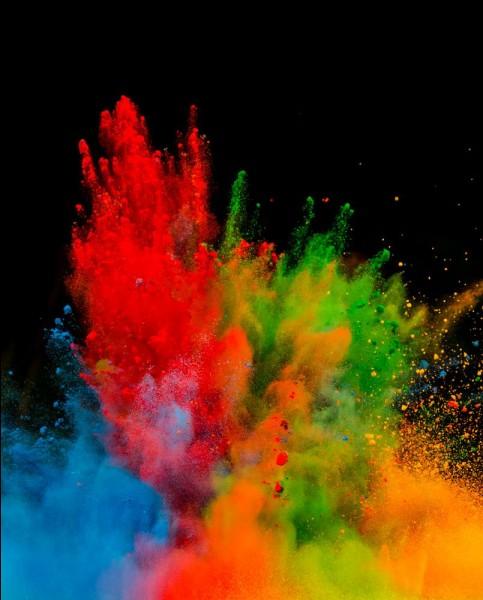 Quel est le genre de couleur que tu préfères ?