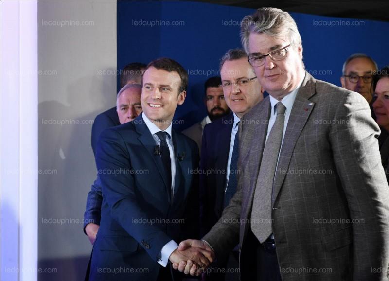 Quel poste a été spécialement créé pour lui sous la présidence d'Emmanuel Macron ?