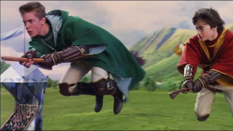 Lequel de ces joueurs ne fait pas partie de l'équipe de quidditch de Serpentard durant ce match ?