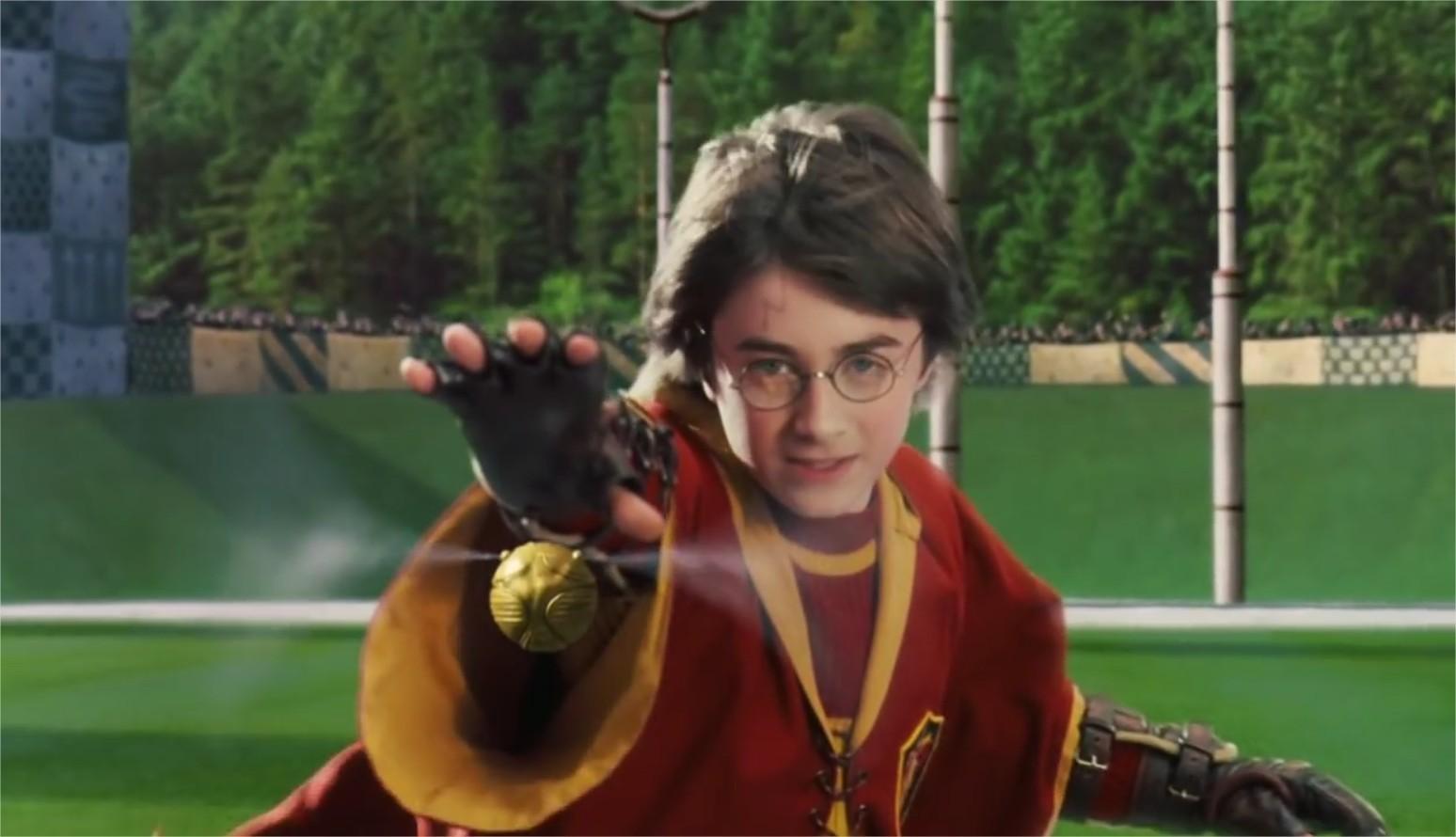 Harry Potter 1, chapitre 11 : Le match de Quidditch