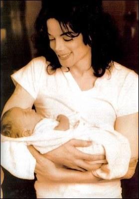 En quelle année est né le premier enfant de Michael Jackson ?