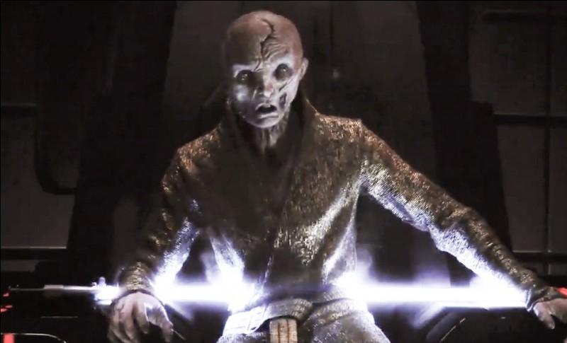Qui a tué le suprême leader Snoke ?
