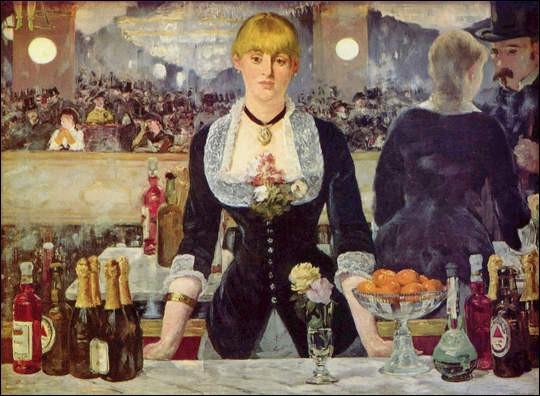 """C'est """"Le bar aux folies bergères"""", qui en est l'auteur ?"""