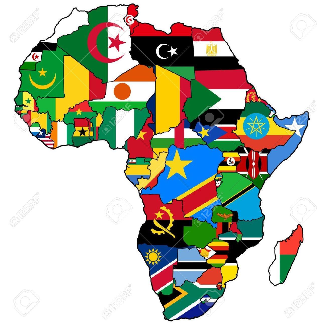 Les capitales du continent africain