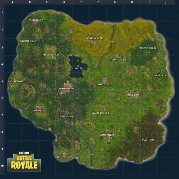 Dans quelle zone de la map atterris-tu en général ?