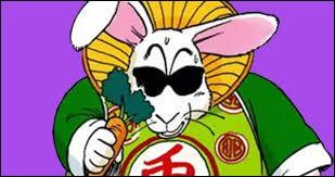 Comment s'appelle le lapin qui a transformé Bulma en carotte ?