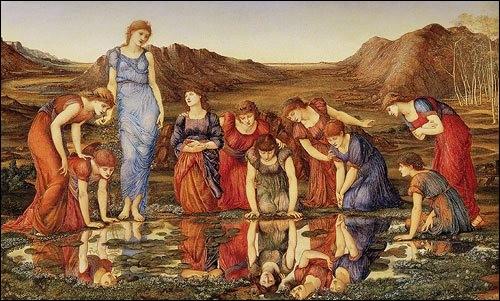 Quel peintre préraphaélite britannique (1833-1898) a développé un style personnel mêlant des éléments empruntés à l'oeuvre de Dante Gabriel Rossetti, au classicisme et aux primitifs italiens en particulier Botticelli ?