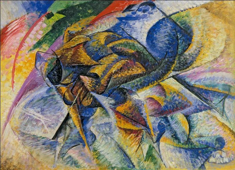 De quel mouvement le peintre italien Umberto Boccioni (1882-1916) est-il l'un des principaux représentants ?