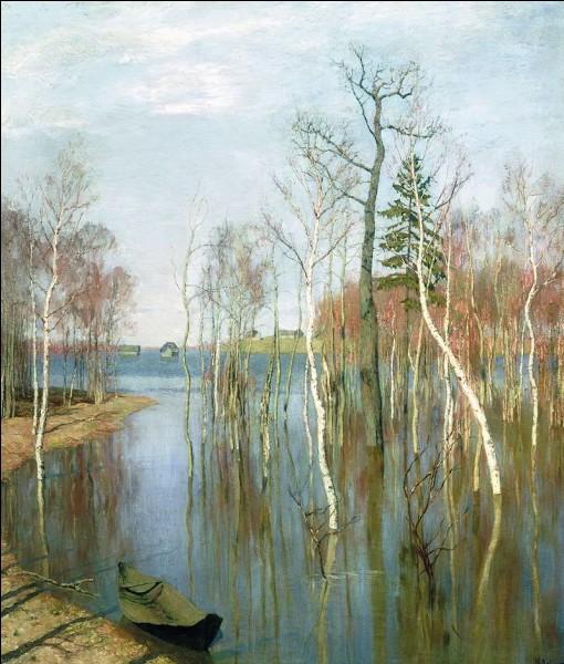 """Quel peintre paysagiste russe (1860-1900) ami de Tchekhov fut influencé lors de son séjour parisien en 1889 par les impressionnistes dont il acquiert la technique qu'il emploie afin d'exprimer son sens du """"paysage-état d'âme"""" russe pénétré tantôt de mélancolie tantôt de sérénité ?"""