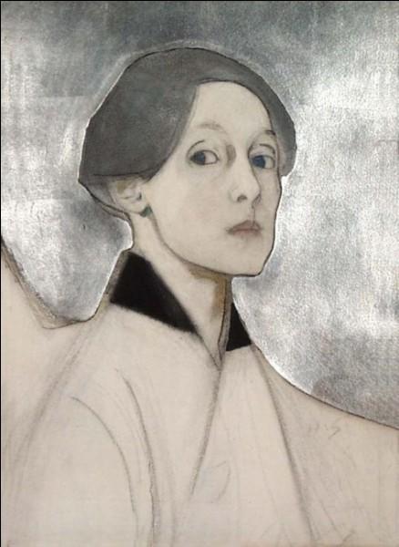 Quelle peintre finlandaise (1862-1946) est particulièrement connue pour sa série d'autoportraits couvrant une période très longue, près de 70 ans ?