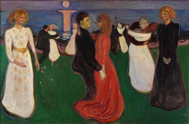De quelle nationalité est Edvard Munch (1863-1944), peintre symboliste et précurseur de l'expressionnisme dont les oeuvres abordent des thèmes existentiels comme l'angoisse, la mort, l'amour, la jalousie et la mélancolie ?