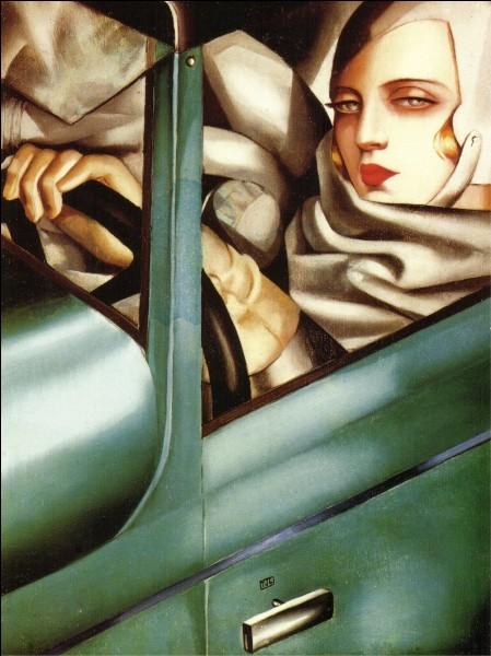 De quelle nationalité est Tamara de Lempicka (1898-1980), la plus célèbre peintre de la période Art déco ?