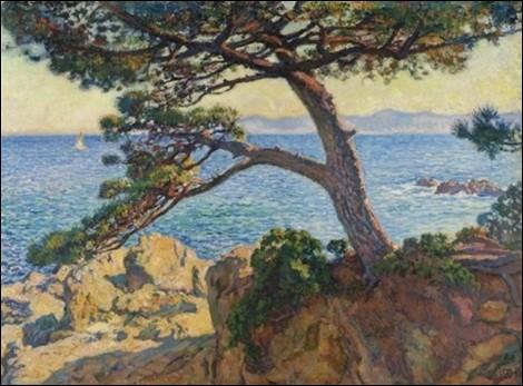 Quel peintre belge (1862-1926) qui a été l'un des principaux représentants du divisionnisme en Belgique s'est établi à St Clair en Provence en 1910 ?