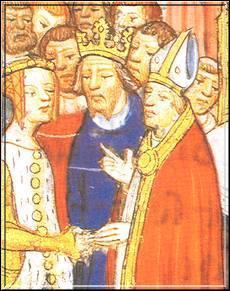 Je fus la femme la plus belle de mon temps et me mariai au roi de France Louis VII le Jeune. Mais après 10 ans d'union, nous divorçâmes et mon nouvel époux fut le roi d'Angleterre Henri II. Qui suis-je ?