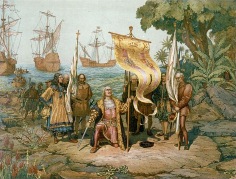 Originaire de Gênes, je fus employé par la reine de Castille pour trouver la route des Indes en traversant l'océan par l'ouest. Quelle fut ma surprise lorsque je découvris les Amériques. Qui suis-je ?