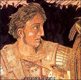 Mon précepteur ne fut autre que le grand Aristote. Je fus l'un des plus grands conquérants de l'Histoire. Ma plus belle victoire fut celle des Gaugamèles sur Darius III. Qui suis-je ?