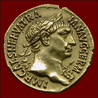Sous mon règne au début du IIème siècle après JC, jamais l'Empire Romain ne fut si grand. Je succédai à Nerva et appartient à la dynastie des antonins. Qui suis-je ?