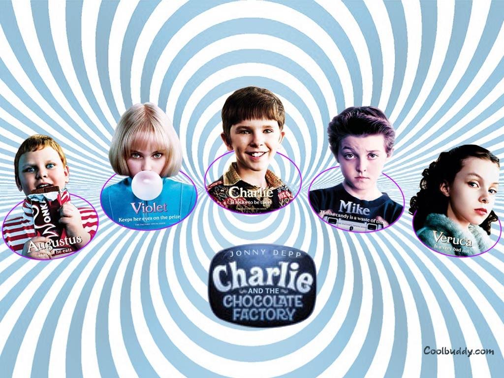 Quel enfant es-tu dans 'Charlie et la Chocolaterie' ?