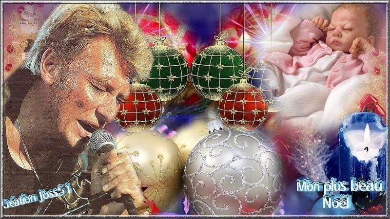 """À quelle occasion, Johnny a-t-il composé """"Mon plus beau Noël"""" ?"""
