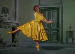 Encore une grâcieuse ballerine découverte en France, qui fût l'héroïne de nombreux films, souvent musicaux, comme Gigi, Un américain à Paris, La pantoufle de verre, ou encore Papa longues jambes. Qui est cette danseuse actrice star ?