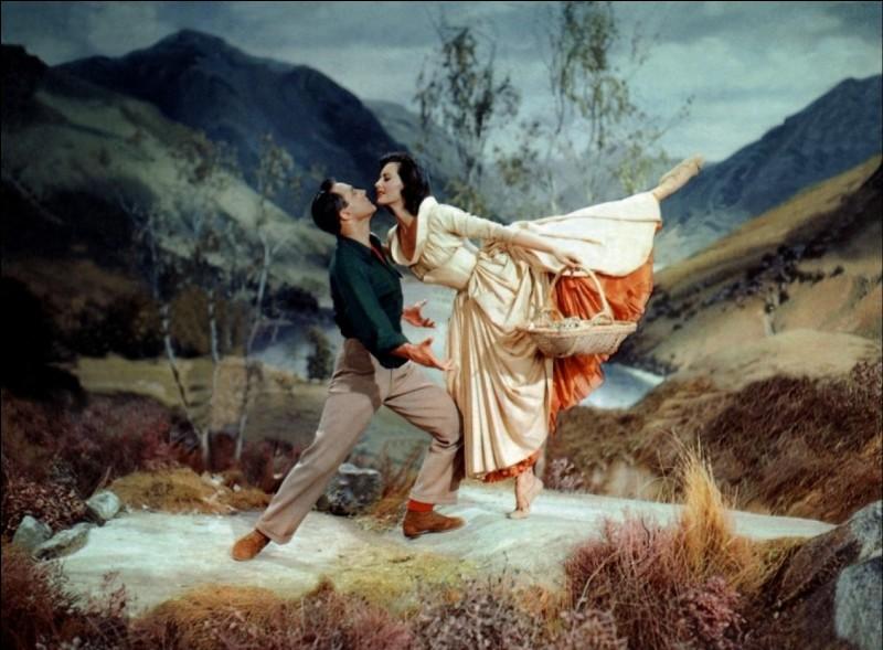 Qui est la grande danseuse classique devenue une vraie star de cinéma dans de nombreux films, d'une grâce infinie, qui ici sort du rêve de Brigadoon pour Gene Kelly ?